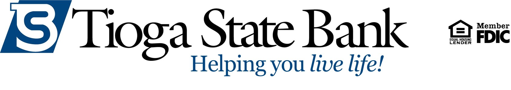 TSB logo helping you live life EHL FDIC